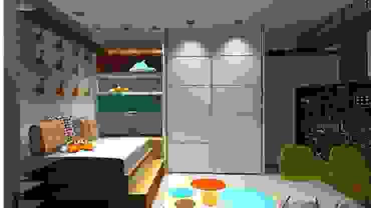Nursery/kid's room by Lucio Nocito Arquitetura e Design de Interiores ,