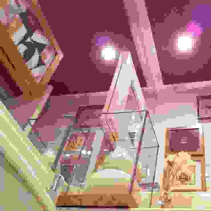 Conceito lavabo feminino. Banheiros ecléticos por Lucio Nocito Arquitetura e Design de Interiores Eclético