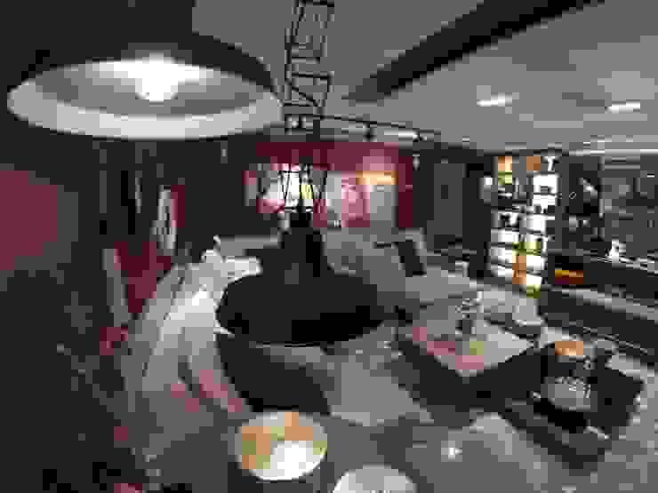 Mostra Decora Lider Rio 2015 - Conceito Home Theater por Lucio Nocito Arquitetura Salas de estar modernas por Lucio Nocito Arquitetura e Design de Interiores Moderno