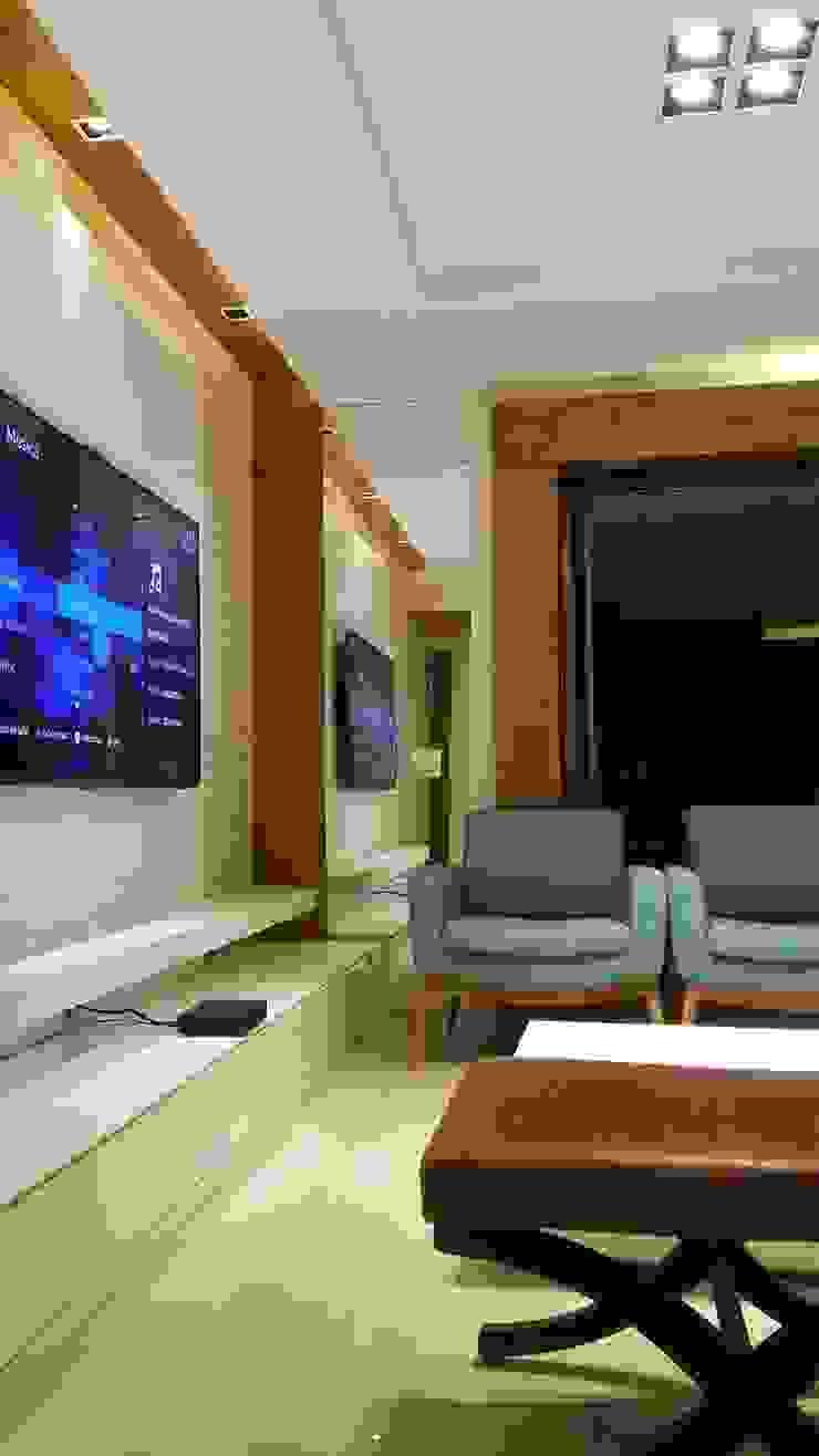 Conceito living por Lucio Nocito Arquitetura e Design de Interiores Rio de Janeiro Salas de estar modernas por Lucio Nocito Arquitetura e Design de Interiores Moderno