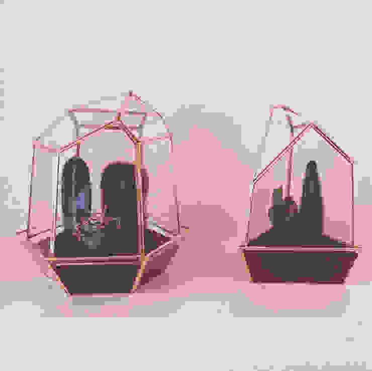 Cuarzos de Decorería La Suculenta Moderno Vidrio