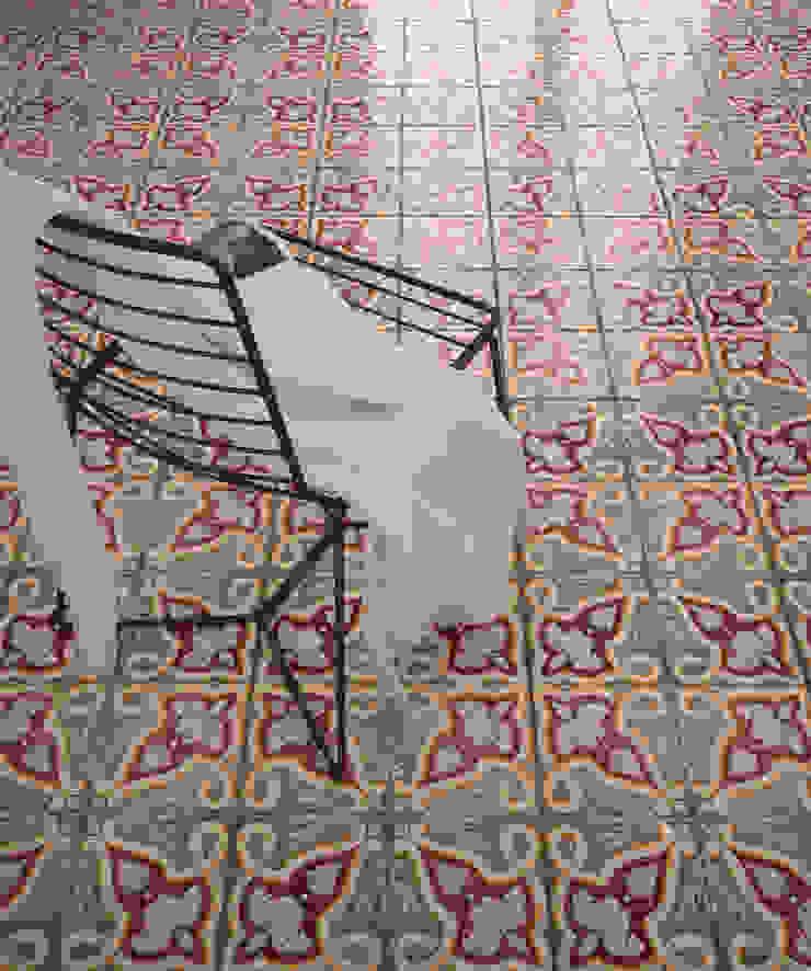 CERAMICHE MUSA Modern dining room Ceramic Red