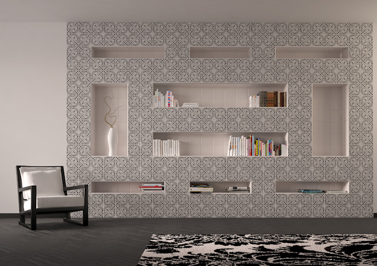 Study/office by CERAMICHE MUSA,