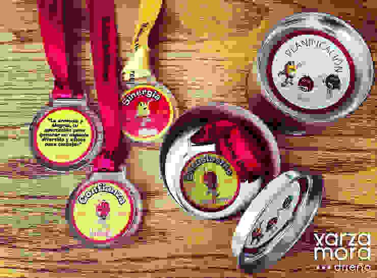 Medallas de Xarzamora Diseño