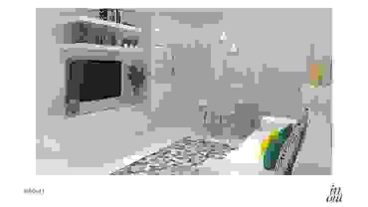 Sala de Estar/Jantar e Cozinha - 3D por In&Out