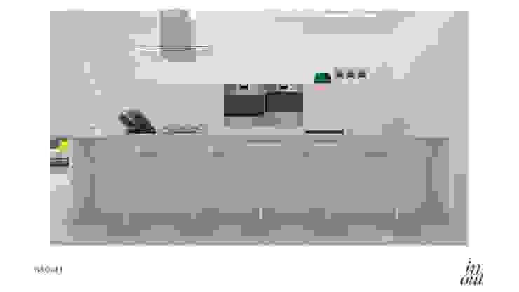 Sala de Estar/Jantar e Cozinha – 3D por In&Out
