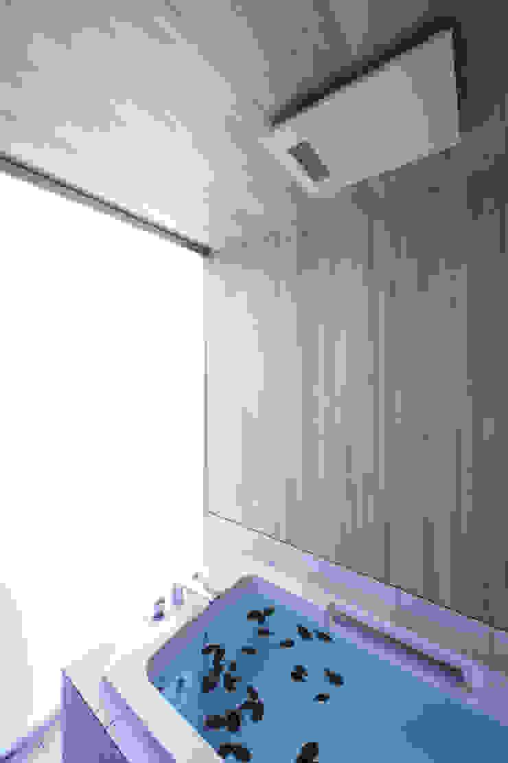 โดย 株式会社廣田悟建築設計事務所 โมเดิร์น ไม้ Wood effect