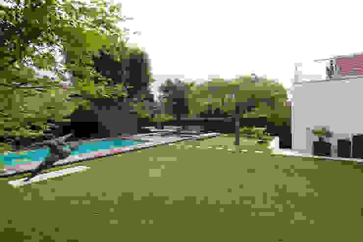 Privatgarten in Wien Moderner Garten von BEGRÜNDER Modern