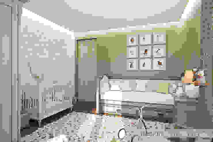 Детская комната Детские комната в эклектичном стиле от ELENA SKUTOVA Эклектичный