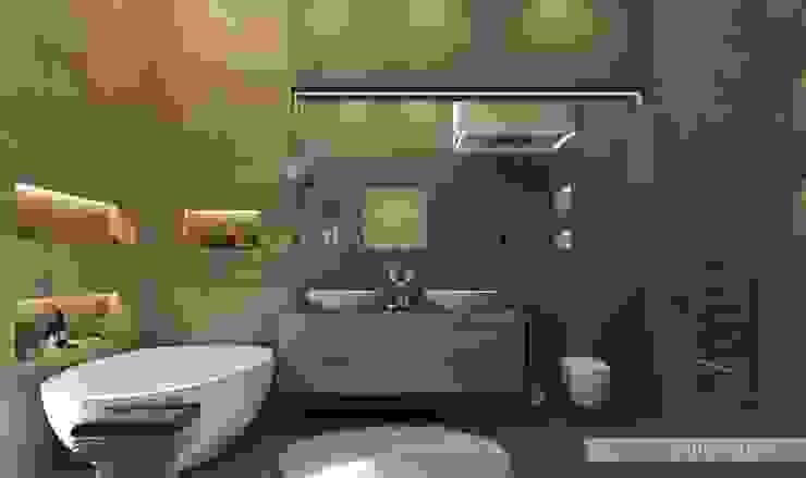 Санузел №1 Ванная комната в эклектичном стиле от ELENA SKUTOVA Эклектичный