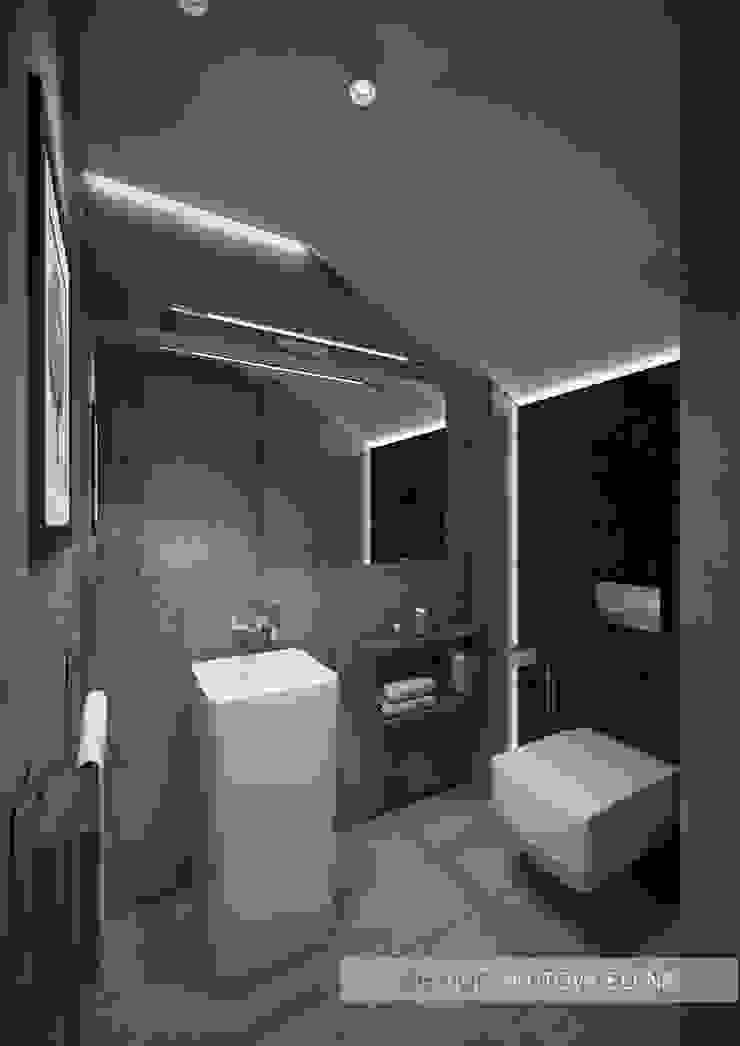 Санузел №3 Ванная комната в эклектичном стиле от ELENA SKUTOVA Эклектичный