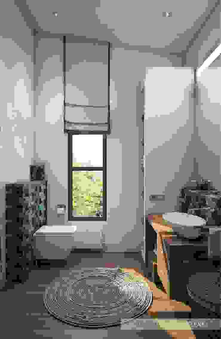 Санузел №2 Ванная комната в эклектичном стиле от ELENA SKUTOVA Эклектичный