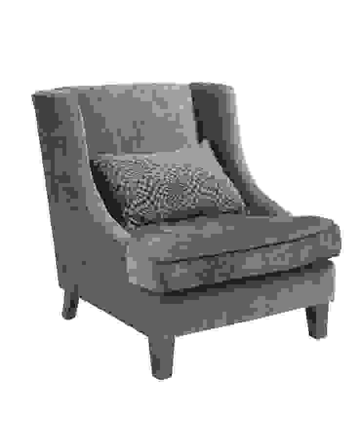 Кресло Segreto Armchair A031:  в современный. Автор – LeHome Interiors, Модерн Дерево Эффект древесины