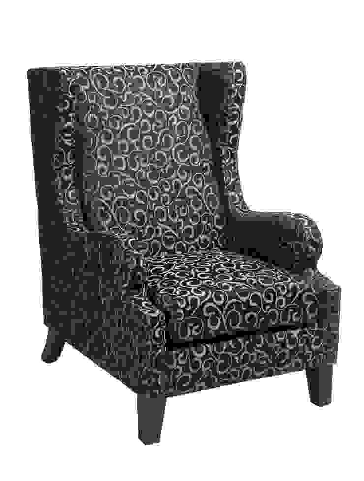 Кресло Walley Club A034:  в современный. Автор – LeHome Interiors, Модерн Дерево Эффект древесины