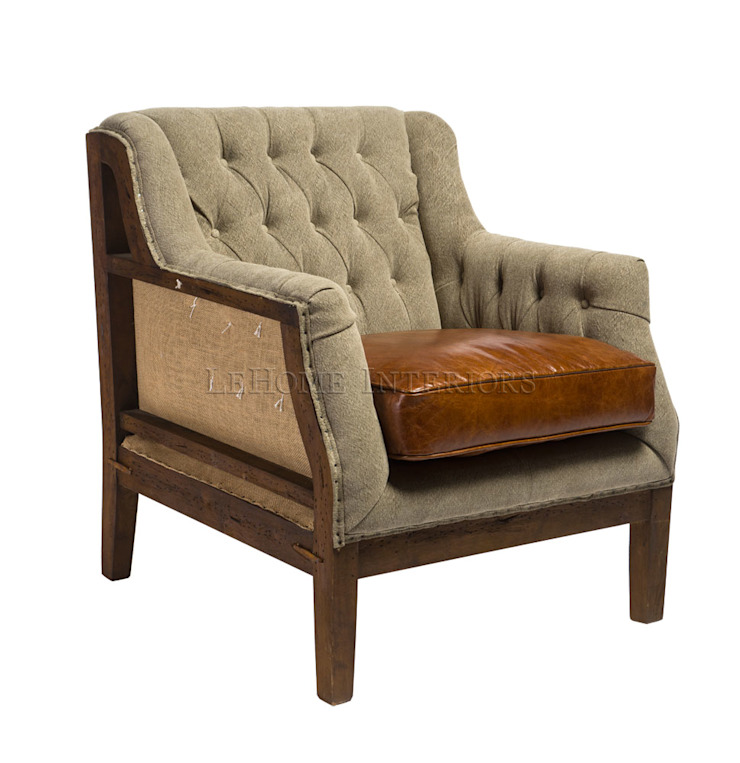 Кресло A126 от LeHome Interiors Кантри Дерево Эффект древесины