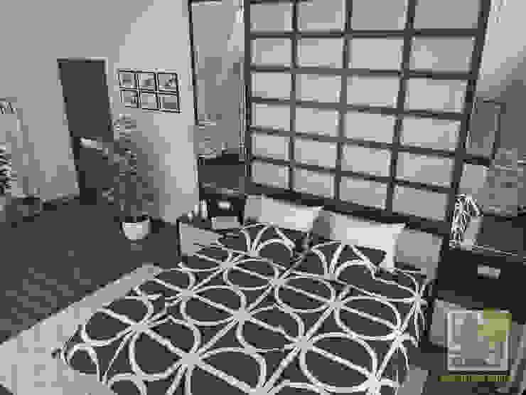 Современная спальня Спальня в эклектичном стиле от Елена Марченко (Киев) Эклектичный