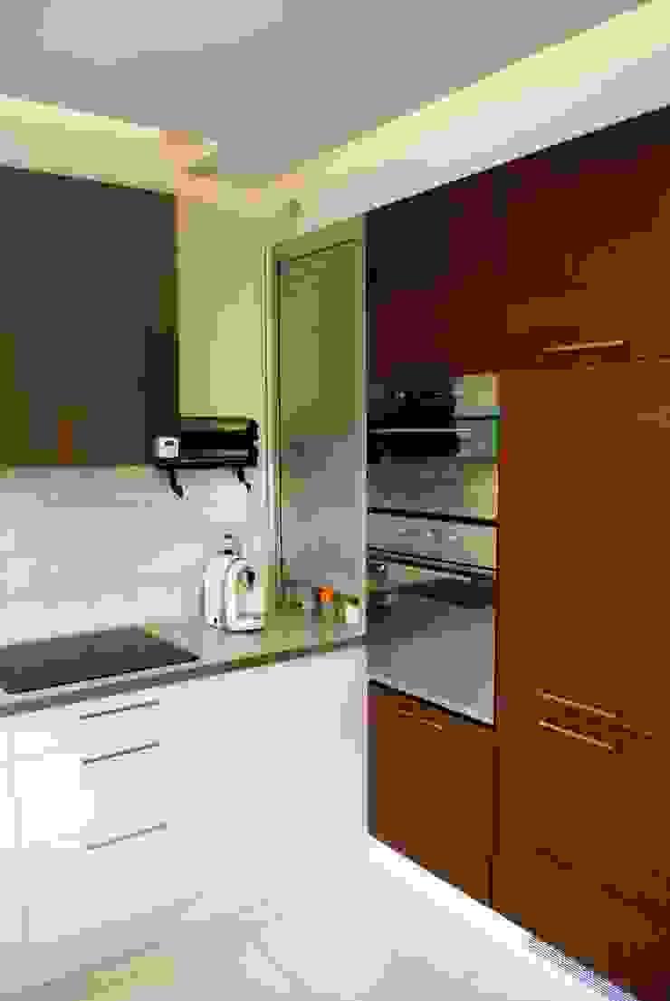 Projekt wnętrza w Łodzi Nowoczesna kuchnia od Projektowanie wnętrz Berenika Szewczyk Nowoczesny