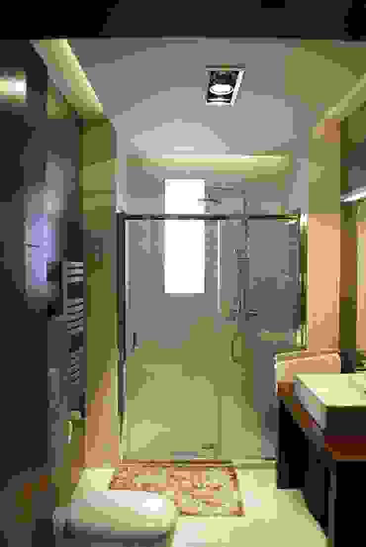 Projekt wnętrza w Łodzi Nowoczesna łazienka od Projektowanie wnętrz Berenika Szewczyk Nowoczesny