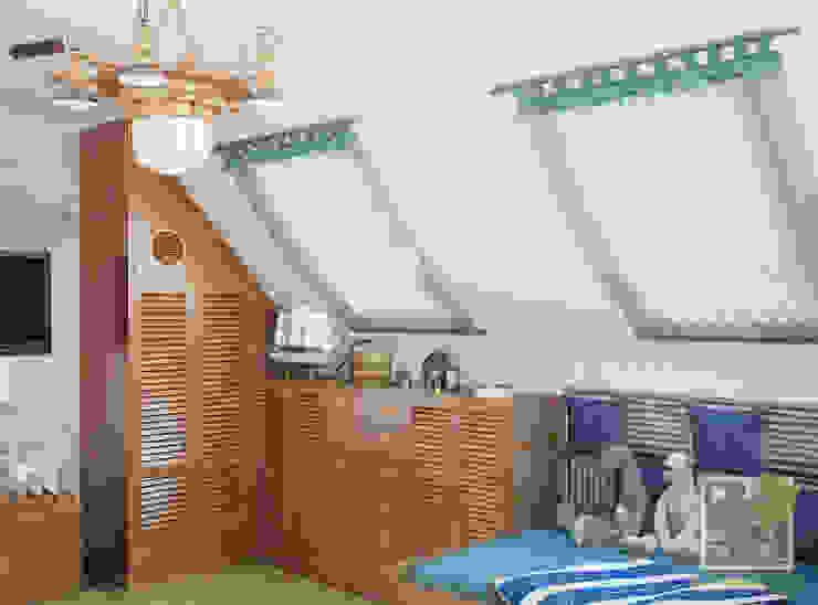 Детская для мальчика в морском стиле Детские комната в эклектичном стиле от Елена Марченко (Киев) Эклектичный