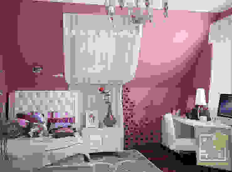 Подростковая для девушки Детские комната в эклектичном стиле от Елена Марченко (Киев) Эклектичный
