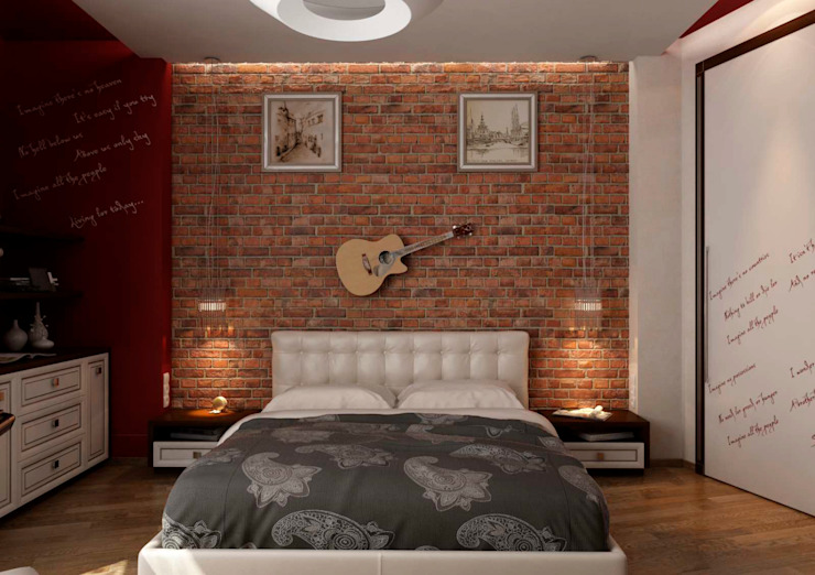 Modern style bedroom by GP-ARCH Modern