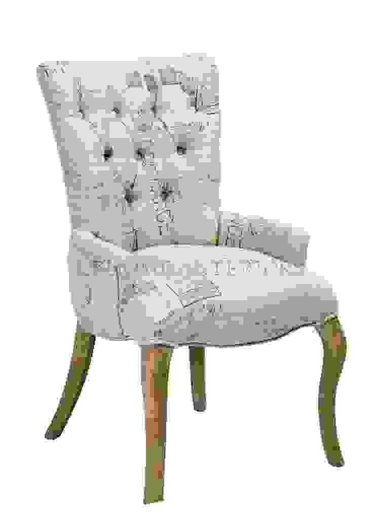 Стул Monogram Chair C031 от LeHome Interiors Классический Дерево Эффект древесины