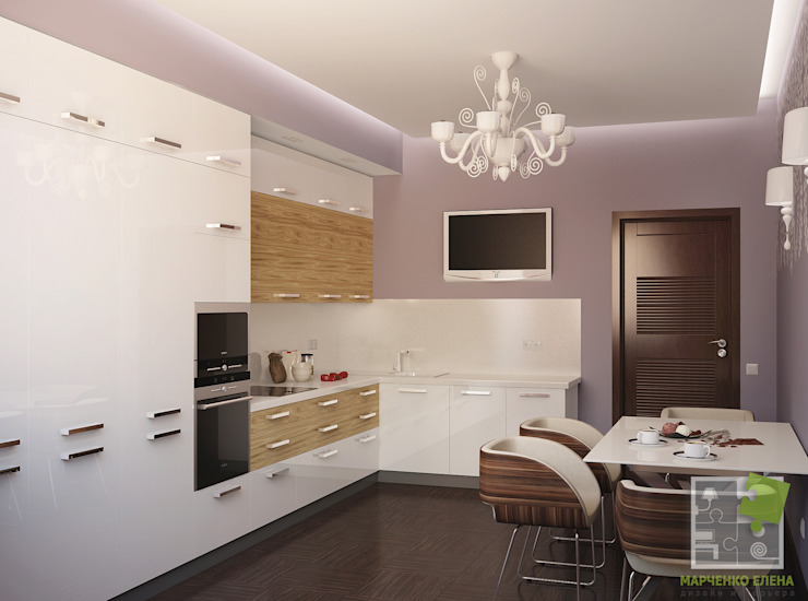 Кухня Кухни в эклектичном стиле от Елена Марченко (Киев) Эклектичный