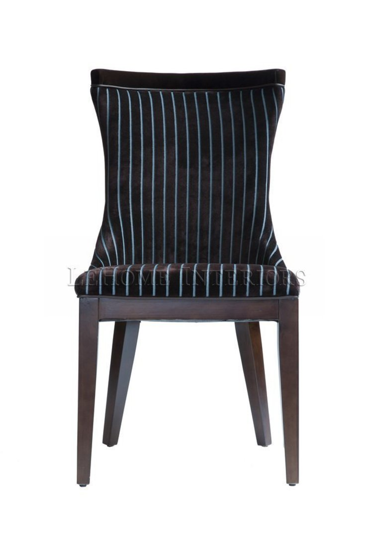 Стул Zebrano Velvet Chair C010 от LeHome Interiors Классический Дерево Эффект древесины
