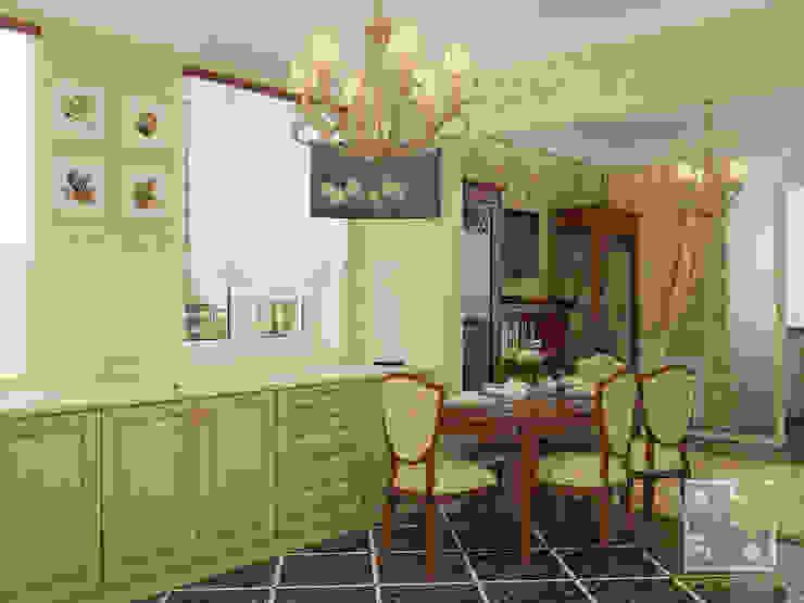 Кухня-студио Кухня в классическом стиле от Елена Марченко (Киев) Классический