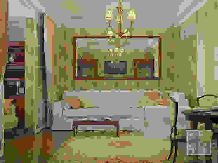 Гостиная-студио Гостиная в классическом стиле от Елена Марченко (Киев) Классический
