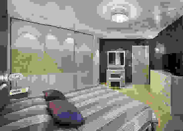 THE NUT WOOD Спальня в стиле модерн от MAKK Модерн
