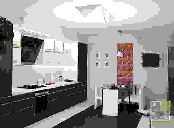 Кухня-студио Кухни в эклектичном стиле от Елена Марченко (Киев) Эклектичный