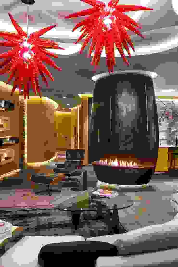 APARTAMENT IN KIEV, UCRÂNIA por GlammFire Moderno