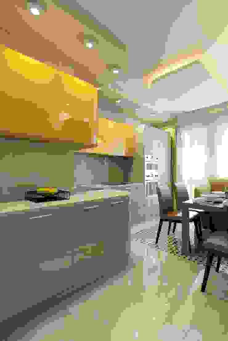 ПРИТЯЖЕНИЕ ЦВЕТА Кухня в классическом стиле от Дизайн студия Алёны Чекалиной Классический