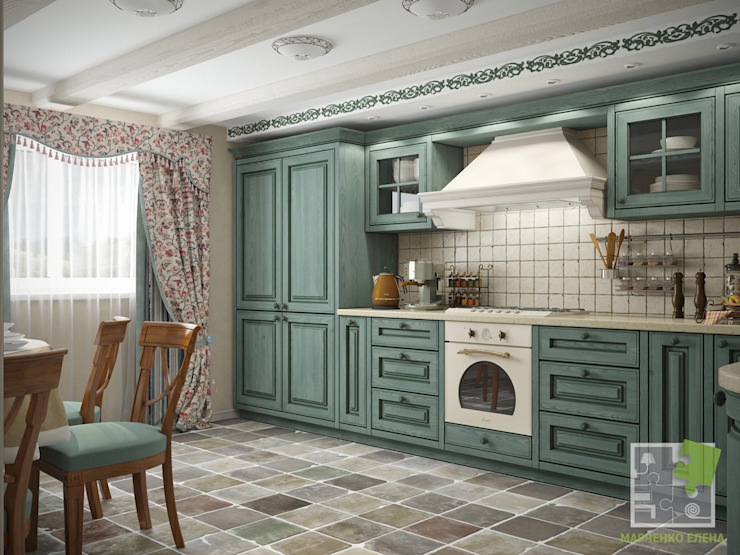 مطبخ تنفيذ Елена Марченко (Киев)