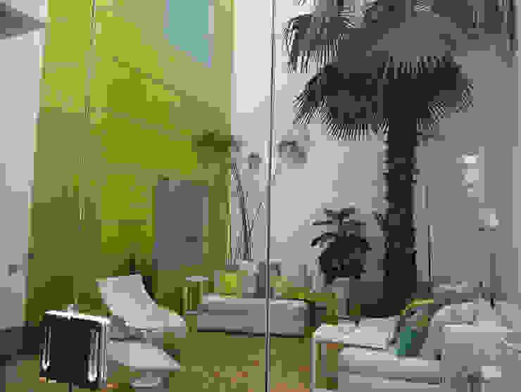 Casa Parral 62 simbiosis ARQUITECTOS Balcones y terrazas modernos