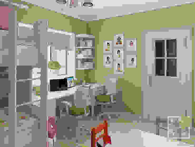 Детская для двоих Детские комната в эклектичном стиле от Елена Марченко (Киев) Эклектичный