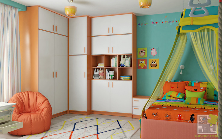 Nursery/kid's room by Елена Марченко (Киев), Eclectic