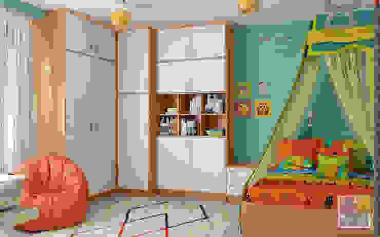 غرفة الاطفال تنفيذ Елена Марченко (Киев), إنتقائي