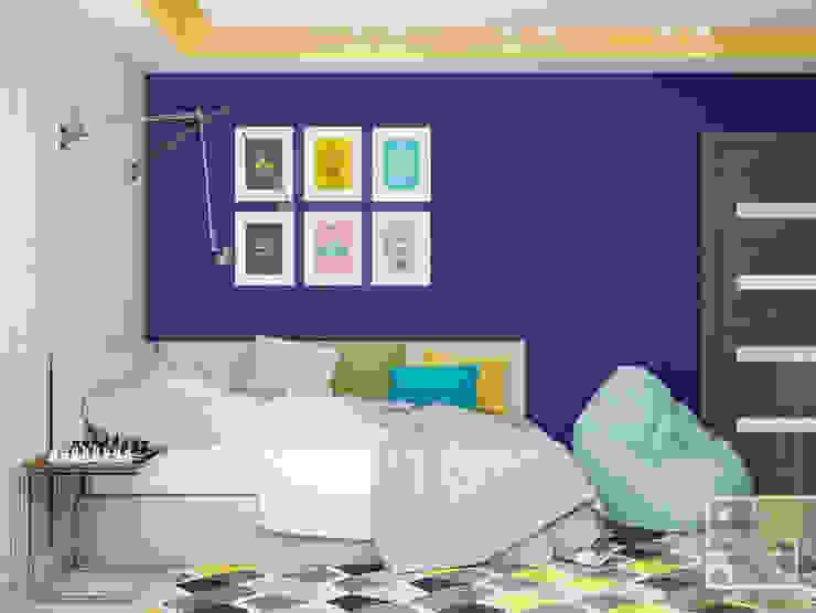 Подростковая для парня Детские комната в эклектичном стиле от Елена Марченко (Киев) Эклектичный