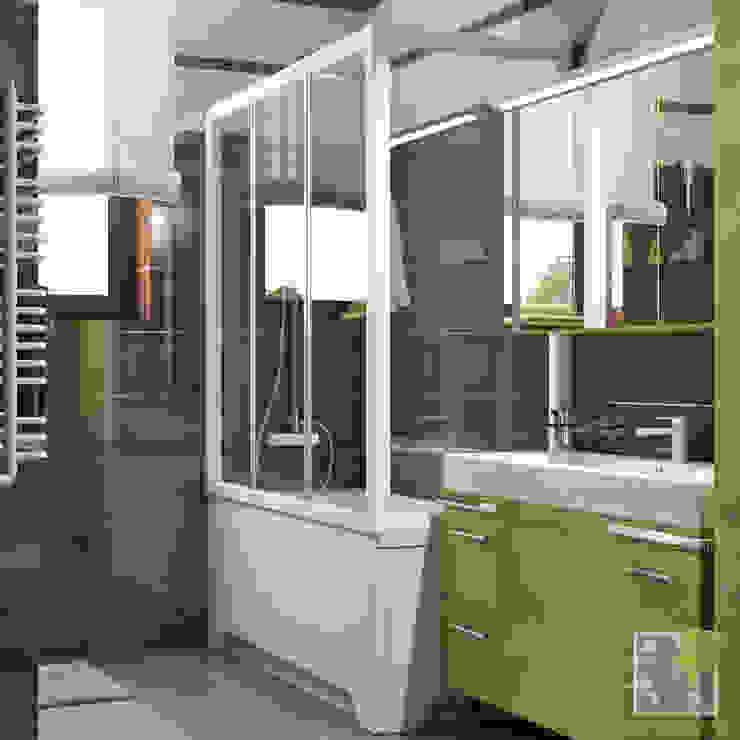 Санузел Ванная комната в эклектичном стиле от Елена Марченко (Киев) Эклектичный