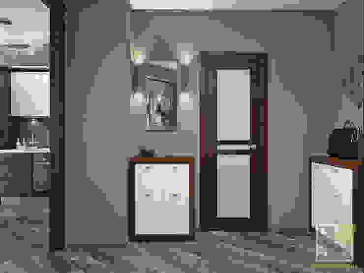 Квартира холостяка Коридор, прихожая и лестница в эклектичном стиле от Елена Марченко (Киев) Эклектичный