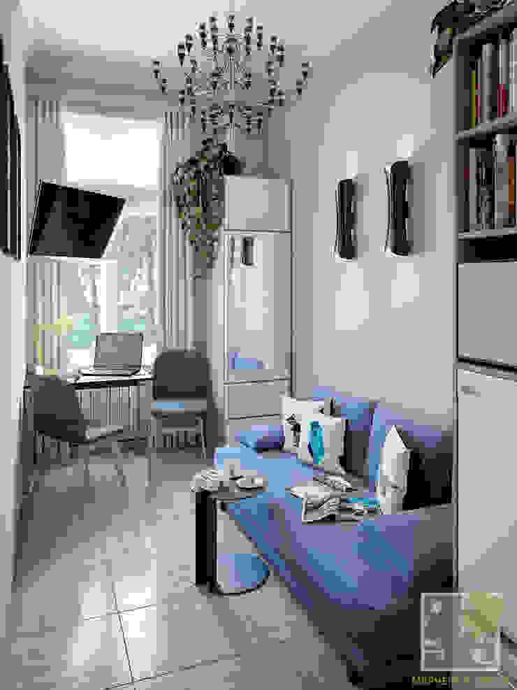 Комната посуточно Медиа комнаты в эклектичном стиле от Елена Марченко (Киев) Эклектичный