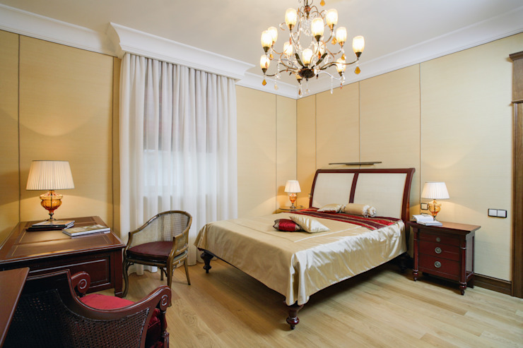 Bedroom by дизайн интерьера Ольга Егупова www.egupova.ru, Classic