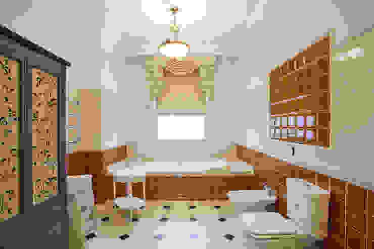Bathroom by дизайн интерьера Ольга Егупова www.egupova.ru, Classic