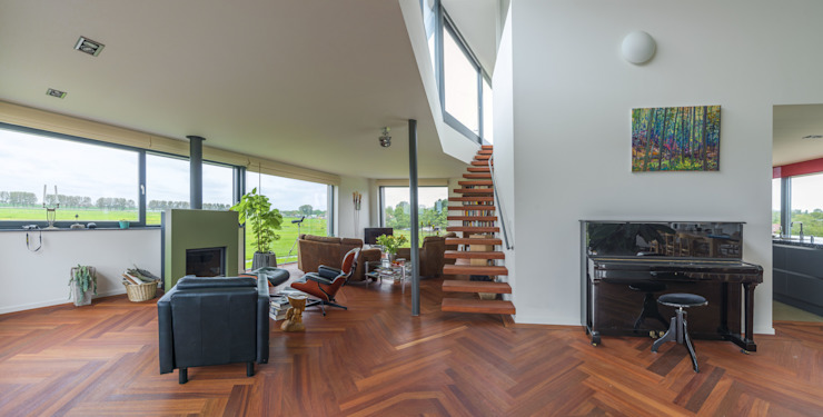 Living room by MAS architectuur,