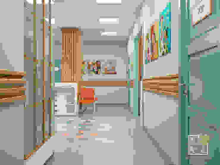 Медицинский центр (рецепшн) Больницы в эклектичном стиле от Елена Марченко (Киев) Эклектичный