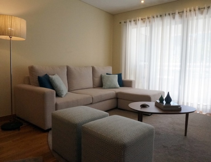 Apartamento Porto Salas de estar modernas por Andreia Miranda - Design de interiores Moderno