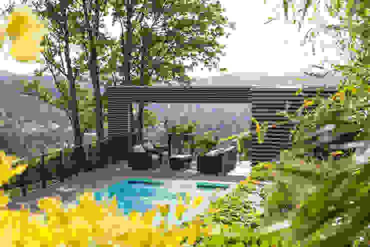 Projekty,  Ogród zaprojektowane przez BEGRÜNDER , Nowoczesny