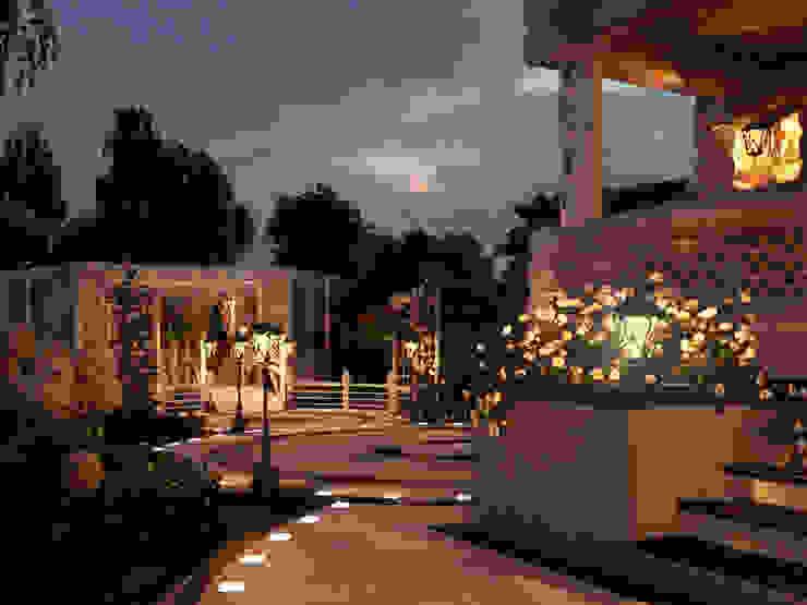 Jardines de estilo mediterráneo de Мастерская ландшафта Дмитрия Бородавкина Mediterráneo
